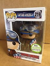FUNKO POP Captain America First Avenger WW2 #219 ECCC Exclusive Vinyl Figure NEW