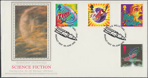 1995 Science Fiction PPS FDC Bromley Kent SHS - High Wycombe, United Kingdom - 1995 Science Fiction PPS FDC Bromley Kent SHS - High Wycombe, United Kingdom