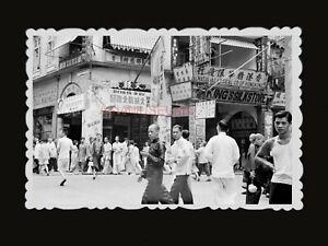 1940s-KING-039-S-SILK-STORE-STREET-WOMEN-RICKSHAW-SIGN-Vintage-Hong-Kong-Photo-1046