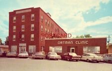 ORTMAN CLINIC AND HOTEL, CANISTOTA, SOUTH DAKOTA circa 1960