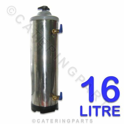 LT16 16 LITRE DVA MANUAL SALT RE-GENERATION TYPE WATER SOFTENER FILTER 16L