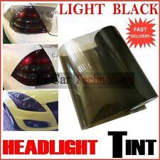 Smoked Black Headlights Tail Lamp Tint Film Car Lights Protection 300mm x 600mm