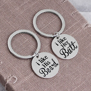 2PCS-Set-I-Like-His-Beard-and-Her-Butt-Funny-Couple-Key-Chains-Ring-Love-GifPTH