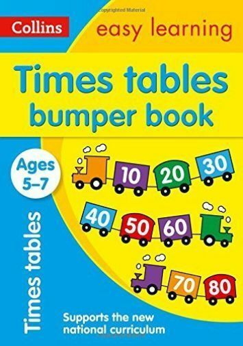 Times Tables Bumper Book Ages 5-7 (Collins Easy Learning KS1) by Collins Easy...
