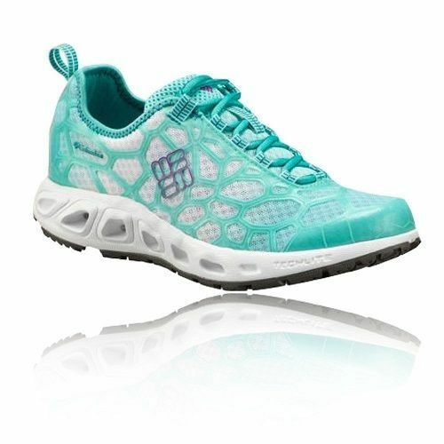 Womens Ladies Columbia Megavent Blue Cushioned Running Shoes Trainers
