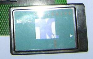HP-OmniBook-300-425-530-4000C-100LX-Palmtop-PC-10MB-5V-FlashDisk-PCMCIA-Card