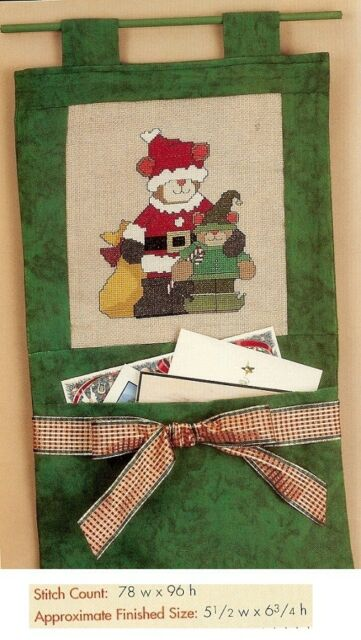SANTAS LITTLE HELPER    -   CROSS STITCH  PATTERN     HM - ERYA