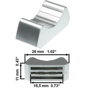 Prof-Fader-Knob-Metallised-T-Lever-Fadercaps-Fadercaps-Caps-F-Mixing-Consoles-Dj