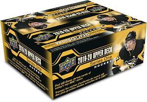 2019-20-Upper-Deck-Hockey-Series-1-Factory-Sealed-24-Pack-Box