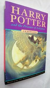 HARRY POTTER AND THE AND THE PRISONER OF AZKABAN J K ROWLING *UNREAD* 1ST/1 99
