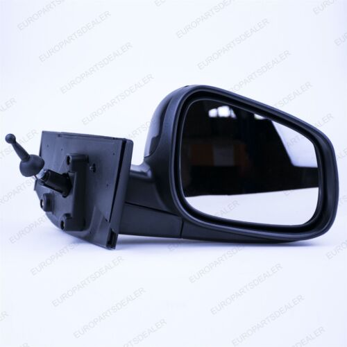 Chevrolet Spark M300 2009-2012 Wing Mirror Manual Right O//S  Glossy Black