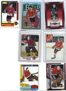 LOT-OF-7X-BLACKHAWKS-PLAYERS-RETRO-TONY-ESPOSITO-MIKITA-GADSBY