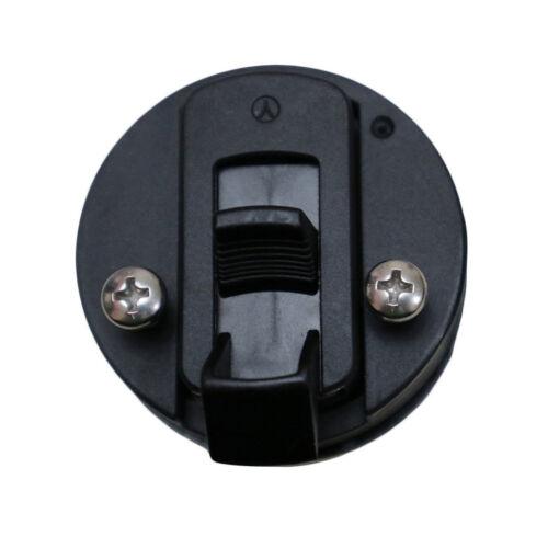 "2 Black Nylon 2/"" Flush Pull Slam Latch for Boat Deck Hatch 1//2/"" Door Replace"