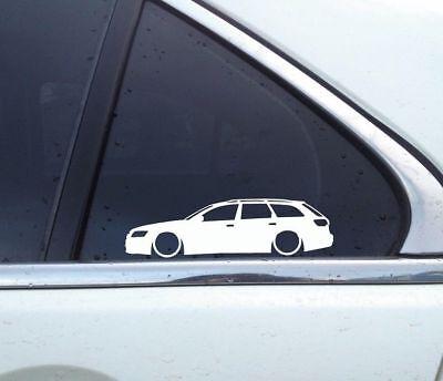 vag Lowered WAGON MAFIA sticker for Audi A6 avant C6