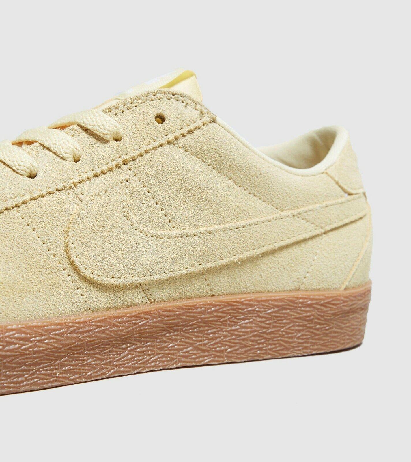 Nike SB Zoom Premium se Para Hombre Bruin entrenadores - (UK 10.5 EU 45.5) Color Limón