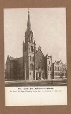Chicago,IL Illinois,Ev. Lutheran St.John's Church, Hoyne Ave & Cornelia St.