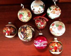 Vintage Christmas Tree ORNAMENTS Assorted YOU CHOOSE Longaberger Mary Engelbreit