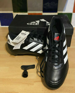 Adidas-Homme-Goletto-VI-SG-Soft-Ground-Football-Boots-UK-9-EU-43-3-Noir-BY2431