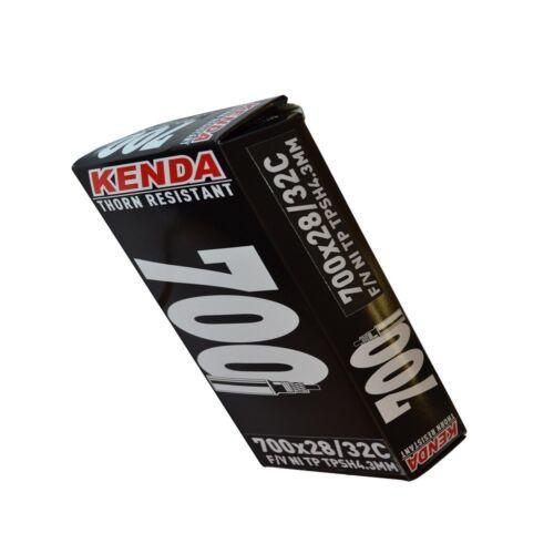 Kenda Thorn Resistant Bicycle Inner Tube Black 700x28//32C