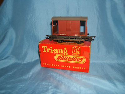 1960's Tri-ang R16 Brake Van, In Original Box