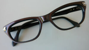 Metzler Vintage Original 50er 60er Brille Brillenfassung Damen Kunststoff Size S Klar Und GroßArtig In Der Art Augenoptik Alte Berufe