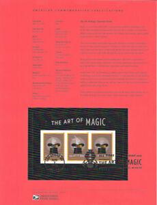 1824-1-50-Forever-The-Art-of-Magic-Souvenir-Sheet-5306-Souvenir-Page