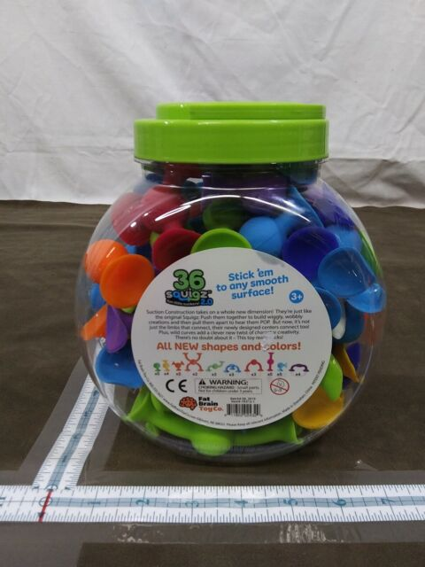Fat Brain Toys Squigz 2.0-36 Piece Building /& Construction for Ages 3 to 6