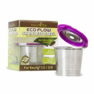 ECO-Flow-Stainless-Steel-Refillable-Reusable-Coffee-Pod-Capsule-K-Cup-for-Keurig