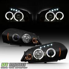 Black Smoke 2006 2013 Chevy Impala Led Drl Halo Projector Headlights Headlamps Fits 2006 Impala