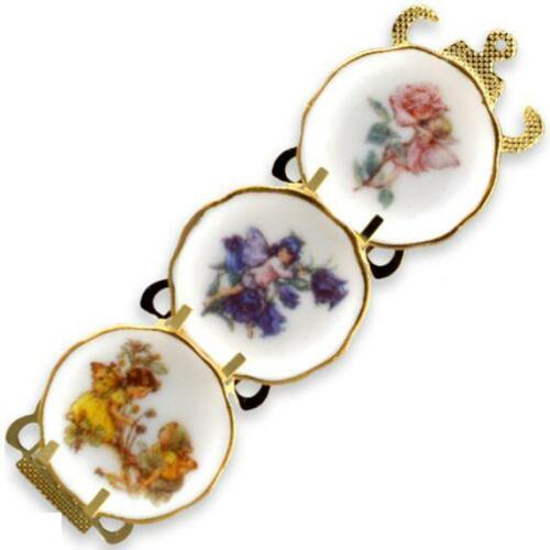 DOLLHOUSE Flower Fairies Plate Rack Reutter 75.389//8 Miniature