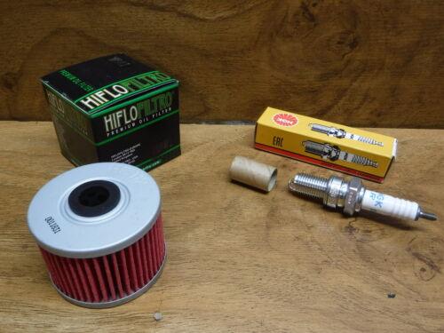 85-87 HONDA ATC 250ES BIG RED OIL FILTER W// FREE Spark Plug  NGK DR8ES-L FAST S