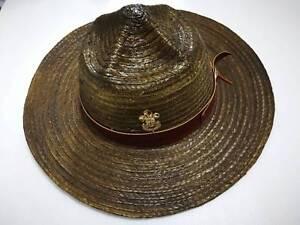 db8ee8b29fba6 Boyscout Stetson Hat Master Adult Safari Baden Badge Cowboy Sheriff ...