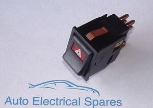 Hazard-warning-light-switch-ILLUMINATED-for-CLASSIC-ROVER-Mini-1975-1992