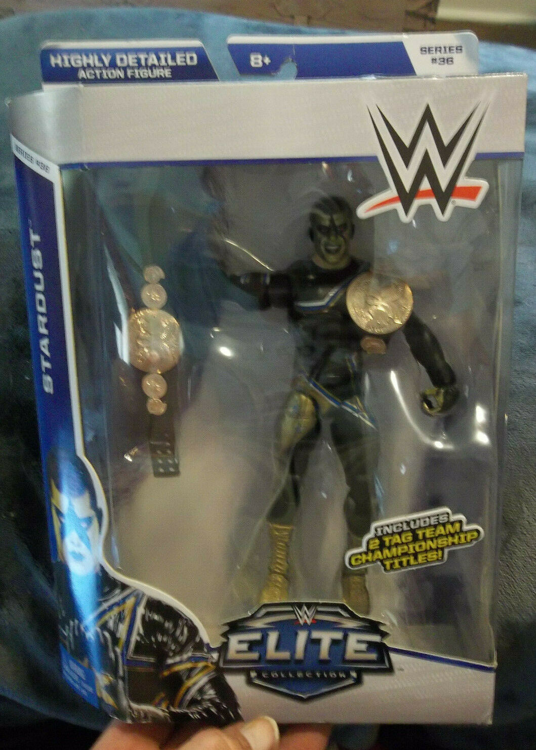 WWE Wrestling ELITE Collection Series   36 STARDUST NEW Sealed CODY RHODES nip