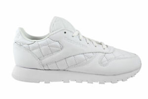 Ar1262 Classic Lthr Schuhe Cl Leather Quilted Reebok Weiß White 8CFqRvn