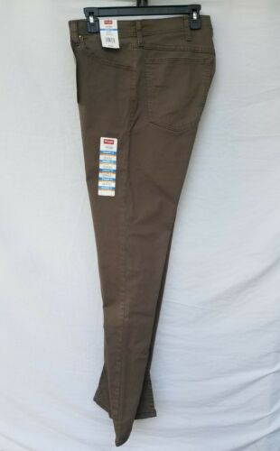 New Men/'s WRANGLER 5 Star Premium Coupe Droite 95 Pantalon wrwmj Major Brown