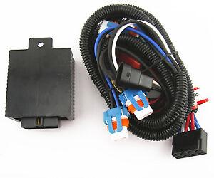 oem h4 headlight relay wiring harness system 4 headl light bulb 9005 & 9006 headlight relay wiring harness system ceramic ...