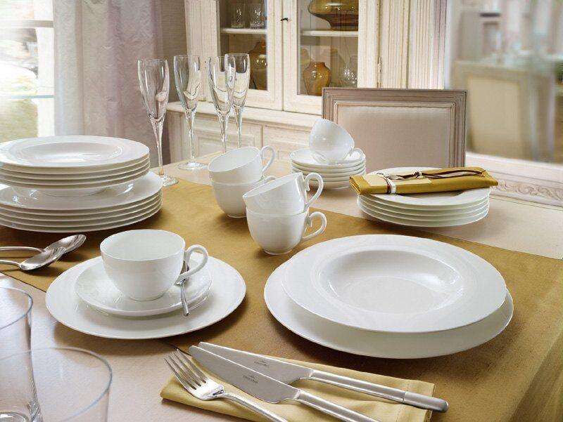 Villeroy & Boch - Anmut bianco Servizio tavola 18 pezzi per 6 persone - Nuovo