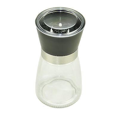 Manual Salt Glass Pepper Grinder Mullker Kitchen Ware Tool Spiece