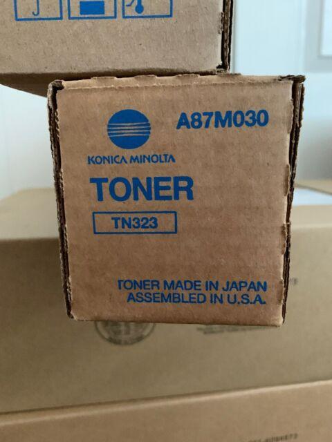 A87M030 TN323 TN-323 Genuine Konica Minolta Toner For 227 287