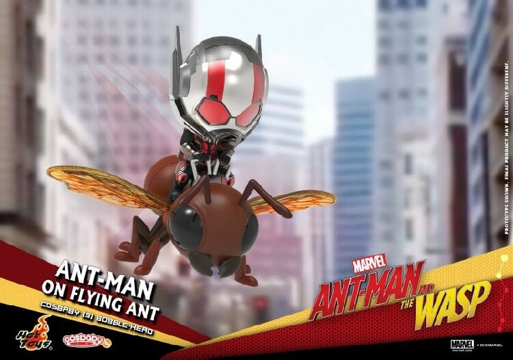 HOTTOYS Ant-Man and the Wasp Set COSB491 COSBABY Ants Q Edition Doll