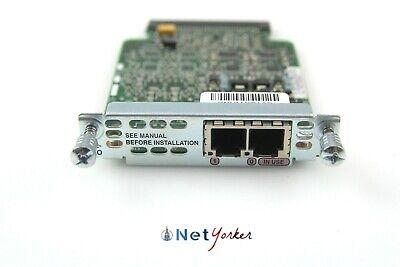 Cisco 73-12977-01 VIC2-2FXO 2-port FXO voice//fax interface card