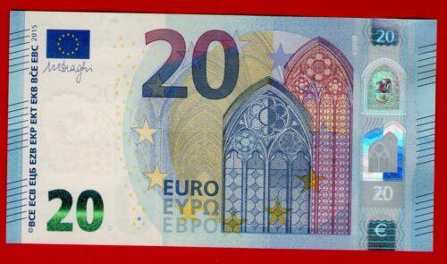 UNC RA NEUF GEM UNC * DRAGHI SIGNATURE GERMANY BERLIN 20 EURO NOTE R006