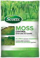 1 SCOTTS MOSS CONTROL GRANULES 5 000 SQUARE FEET USE ANYTIME - 31015