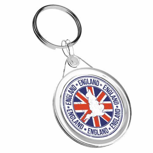1 x England Britain Union Jack Keyring IR02 Mum Dad Kid Birthday Gift #5551