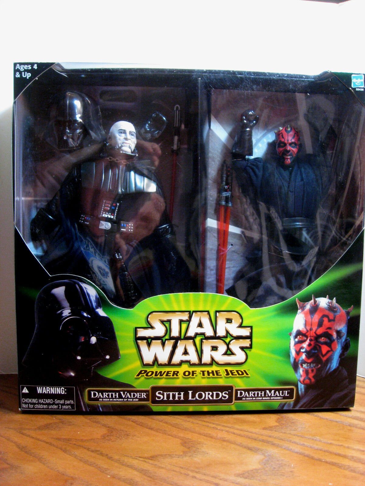 Star - wars - die macht der jedi - sith - lords - 12  darth vader und 12  darth maul