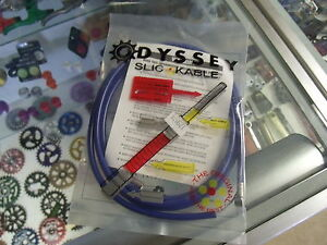 ODYSSEY-SLIC-BLUE-BMX-BICYCLE-BRAKE-CABLE