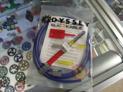 ODYSSEY SLIC BLUE BMX BICYCLE BRAKE CABLE