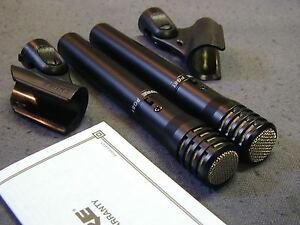 2 Shure Pg81 Microphones à Condensateur Neuf-afficher Le Titre D'origine