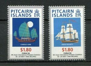 25179) Pitcairn 1996 MNH New China's Stamp Exhib. 2v
